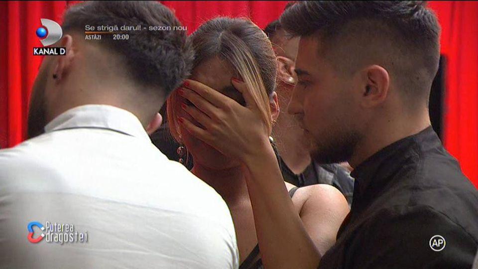 Ana-Maria a fost eliminată de la Puterea Dragostei! A părăsit competiția cu ochii în lacrimi, iar Simina a plâns în hohote