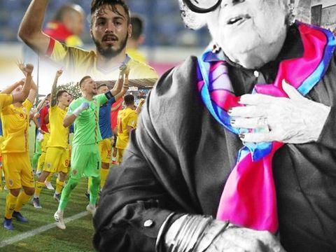Un fotbalist de la România U21 poartă cu el eşarfa bunicii care a murit acum 6 luni! Citeşte povestea emoţionantă a lui Andrei Ciobanu!