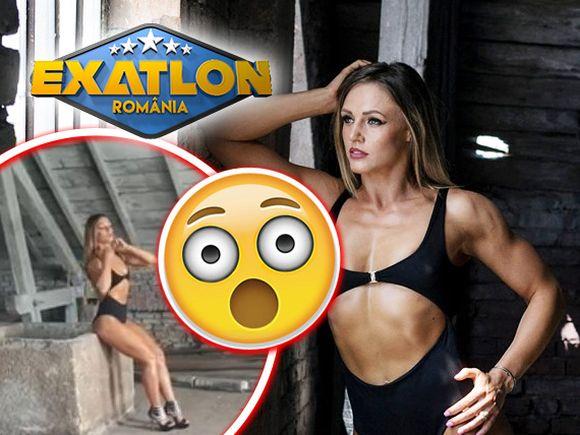 """Ana Otvoș de la Exatlon, sălbatică și rea într-o ședință foto sexy! Războinica """"a rupt"""" aparatele la sală după întoarcerea din Dominicană"""