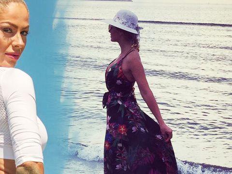 Cele mai sexy imagini cu Alina Pană! Războinica a făcut furori la malul mării