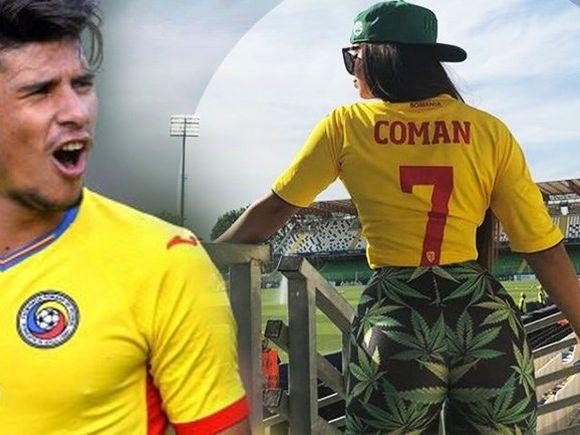 Cum arată iubita eroului Naționalei din meciul cu Anglia! Florinel Coman se poate lăuda cu cea mai sexy prietenă de la Europene