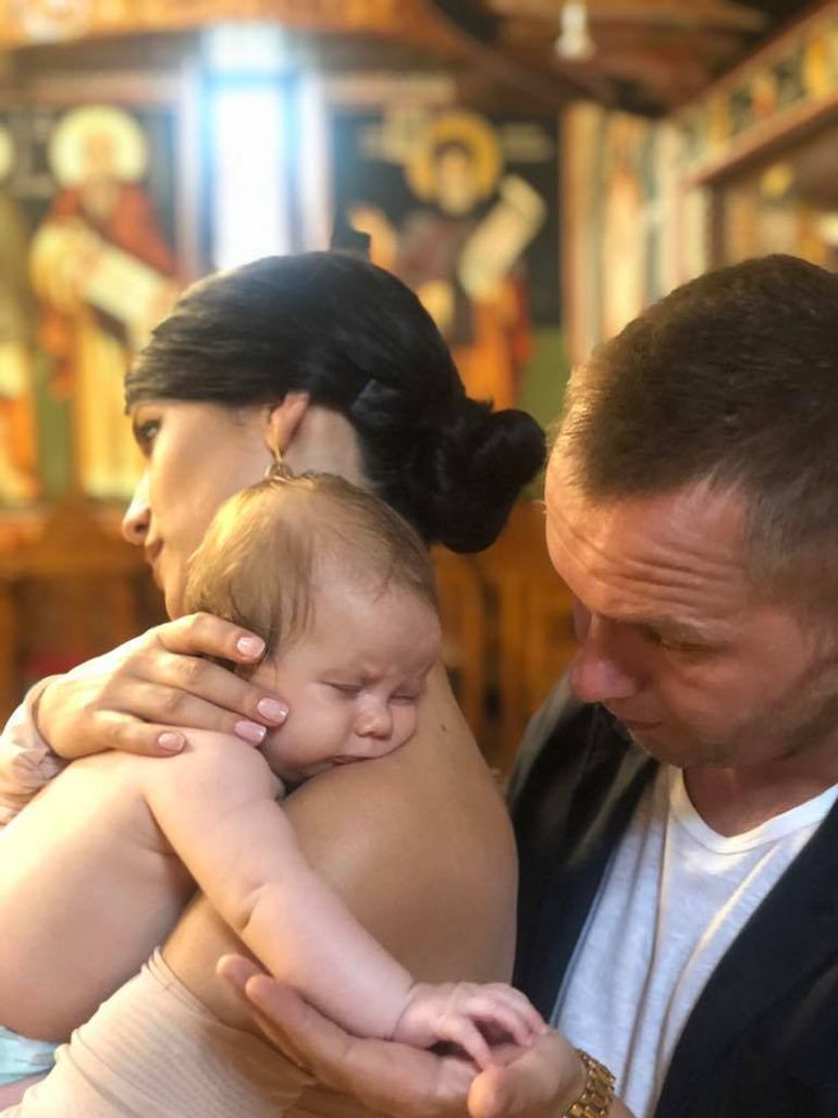 Codin Maticiuc, mărturii emoționante! Ce s-a întâmplat în biserica în care și-a creștinat fetița