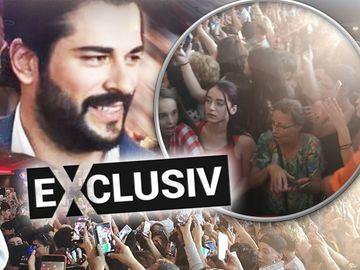 Burak Özçivit, celebrul actor turc din Suleyman Magnificul și Dragoste Infinită, a sosit in Romania! Fanele s-au înghesuit să facă poze cu el la mall