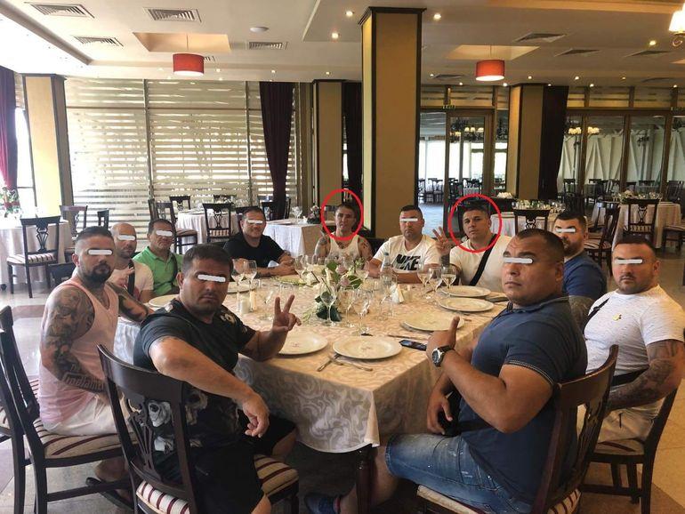 Clanul Cordunenilor a făcut şedinţă la restaurant, cu Beleaua şi Costel în capul mesei! Interlopii nu au dorit să fie deranjaţi, iar salonul a fost gol! FOTO