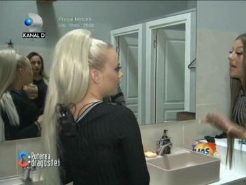 """Simona și Bernadette, scandal mare la Puterea Dragostei. S-au încins spiritele: """"Băi, fetițo!"""""""
