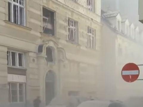 """O explozie puternică a avut loc în Viena! Imagini cu dezastrul după ce o """"bombă ar fi aruncat în aer clădirea"""""""