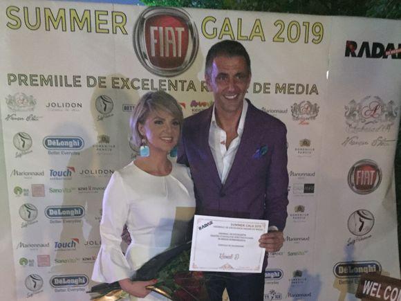 Kanal D, premiul de Excelență pentru evoluție spectaculoasă, la Radar de Media Summer Gala