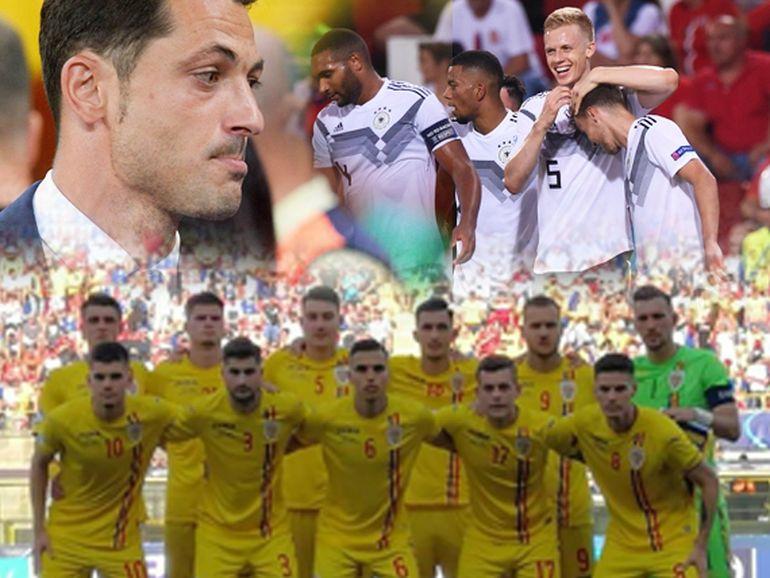 România a fost învinsă cu 4 - 2 de echipa Germaniei, în semifinala EURO 2019