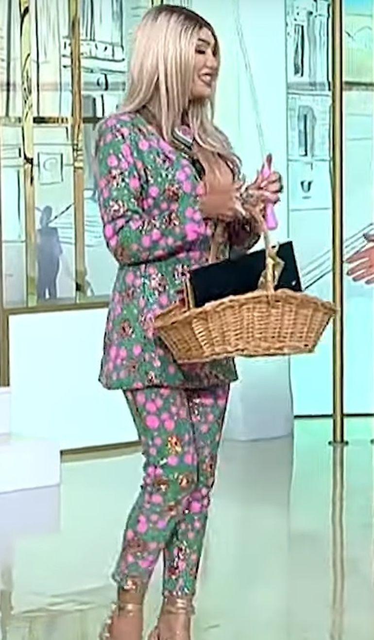Margherita de la Clejani, apariție de INFARCT la TV! A pășit în platou și a vorbit despre sarcină