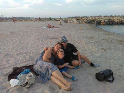 Ioana Tufaru, şedinţă foto de infarct în mare! Uite cum a pozat-o soţul ei după ce a slăbit 70 de kilograme! Ai vreun mesaj pentru ea? FOTO EXCLUSIV!