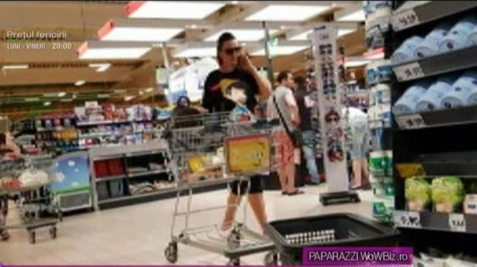 Lavinia Pîrva, prinsă de paparazzi la cumpărături! Cum arată soția lui Bănică Junior la aproape două luni de când a născut