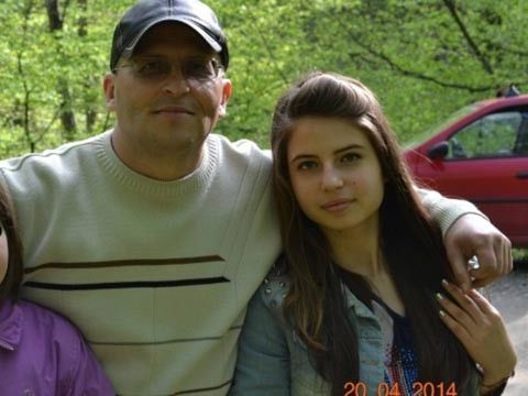 Tatăl Dianei Gugulică, fata ucisă în Parcul Copou acum 4 ani, zâmbește mândru din nou. E vorba de fiica lui mai mică, singura care i-a mai rămas