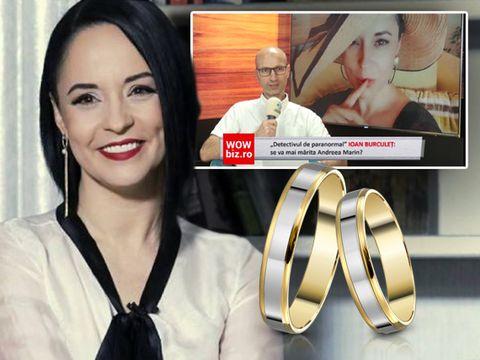 """Andreea Marin se mărită anul viitor? """"Detectivul de paranormal"""" Ioan Burculeț, despre destinul amoros al vedetei VIDEO EXCLUSIV"""