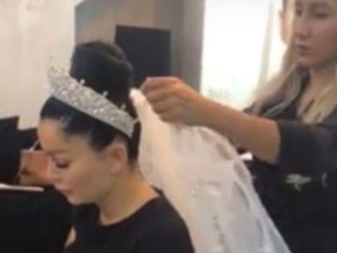 Nunta anului! Primele imagini de la cununia religioasă a lui Brigitte cu Florin Pastramă! Cum au arătat mirii