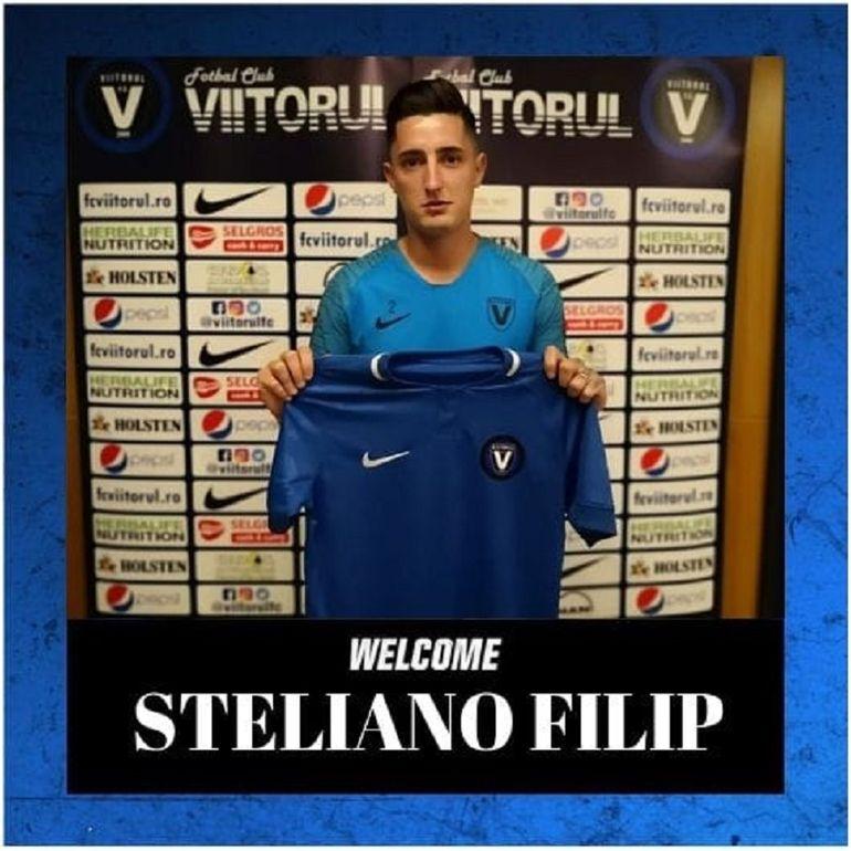 Steliano Filip, transportat de urgență la spital! Ce a pățit fotbalistul Viitorului