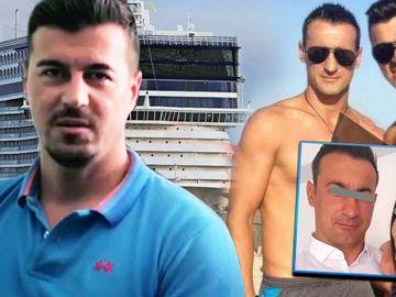 Fratele lui Adrian Alexandrov s-a întors în țară, să-și vadă nepoata! Marinel e șef de croazieră FOTO