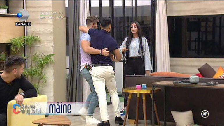 Puterea dragostei 11 iulie. Bătaie cu pumni și picioare între Zănoagă și Mocanu! Andreea Mantea a asistat șocată la toată scena