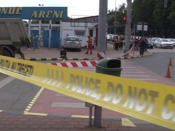 Accident teribil în România! Un bărbat a fost strivit sub roţile unei autobasculante pe trecerea de pietoni! Atenție, imagini care vă pot afecta emoțional