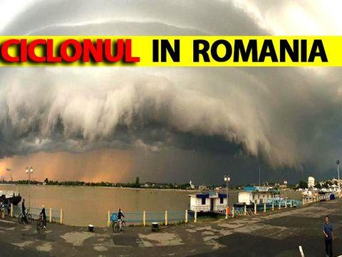 Anunțul de ultimă oră al ANM! Un ciclon mediteranean lovește România după furtuna devastatoare din Grecia!