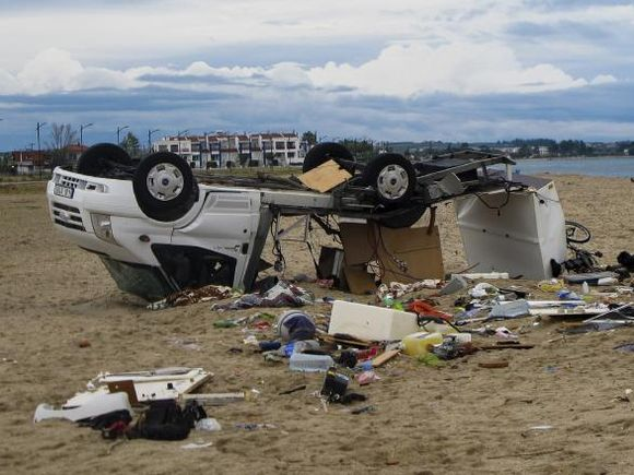 Avertizare importantă pentru români! Se pregătește să lovească o furtună violentă, la fel ca cea care a omorât 7 persoane în Halkidiki