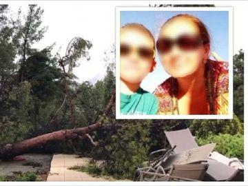 Clipe de durere cumplită în Cluj! Femeia și copilul de 8 ani morți în furtuna din Halkidiki au fost înmormântați! Ce se întâmplă cu tatăl băiețelului