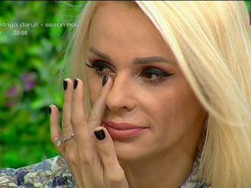 Catrinel Sandu, în lacrimi! Ce i-a spus tatăl ei înainte să moară