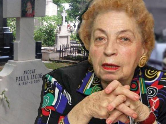 Mormântul regretatei avocate Paula Iacob este întotdeauna plin de flori FOTO