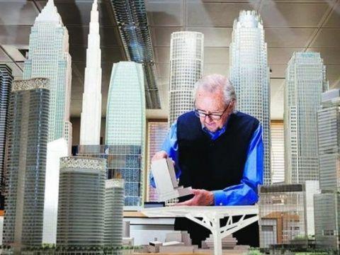 Arhitectul argentinian Cesar Pelli, care a imaginat Turnurile Petronas din Kuala Lumpur, a murit la 92 de ani