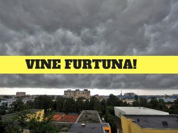 COD GALBEN de furtună în mai multe judeţe din ţară! Zonele afectate