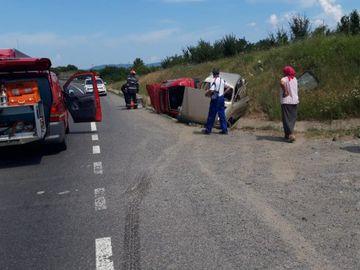 Accident cumplit în Caransebeș! O persoană a murit, iar alte 4 se află în spital