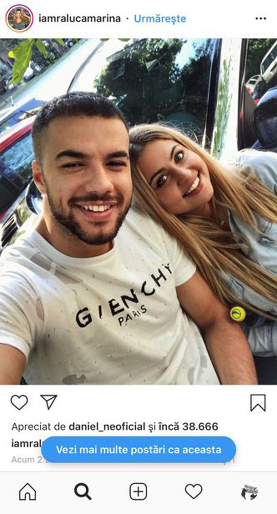 Culiță Sterp și Plușica, împreună! Fotografia care a adunat zeci de mii de like-uri pe Instagram