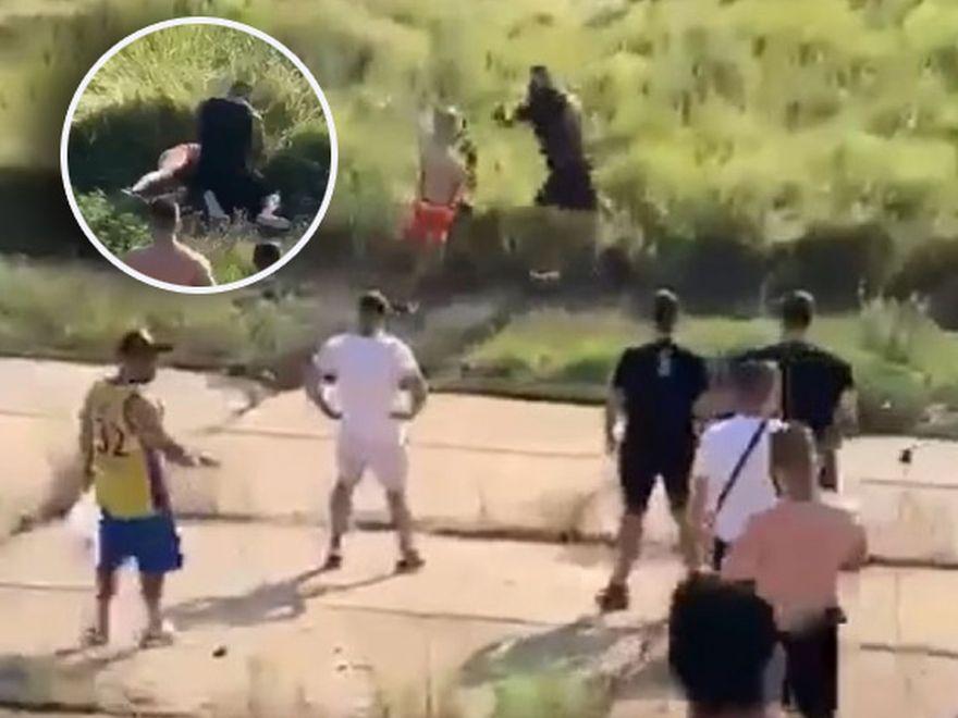 Bătaie cu pumni între doi interlopi din România. Bebino și Bibiloi, luptă încinsă în fața Clanului Sportivilor