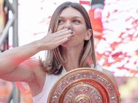 """Simona Halep, interviu rar! Care este """"sfântul pe care-l invocă"""" și ce spune despre semnul crucii de după victorie"""