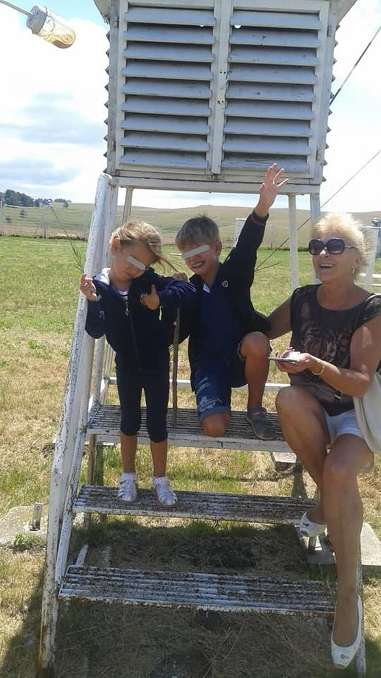Imaginile tristeții! Gloria, fata lui Cristi Borcea cu Alina Vidican, nu a zâmbit de ziua ei! FOTO