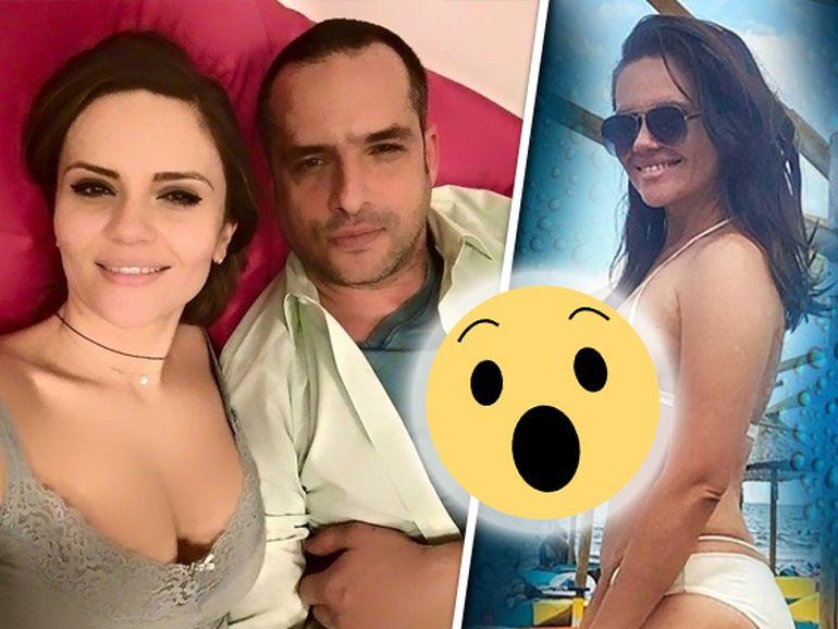 Cristina Șișcanu a slăbit și a ieșit la plajă! Cum arată soția lui Mădălin Ionescu în costum de baie?