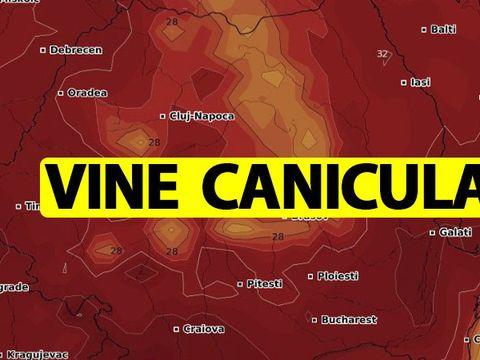 Vine canicula! Un val de aer tropical lovește România! Ce temperaturi se vor înregistra în acest weekend