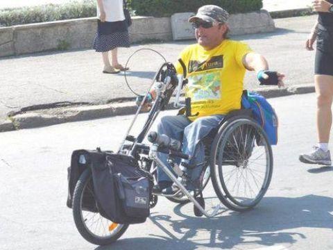 Doliu imens în România! A murit Vasile Stoica, maratonistul care a străbătut lumea în scaun cu rotile! Avea 49 de ani