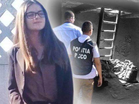 ȘOCANT! Unde au putut să o mai caute polițiștii pe Alexandra! Oamenii spun că fata ar fi fost în pivnița unui vecin