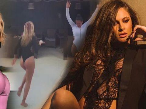 Ana Baniciu și Raluk, singure acasă! Ce au făcut, aproape goale, cele mai sexy cântărețe de la noi VIDEO