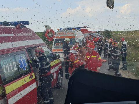 Accident grav în Teleorman! O persoană a murit și alte 5 au fost rănite