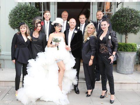 Primele imagini de la nunta lui DJ Wanda! Mai multe vedete de la noi au fost prezente la eveniment