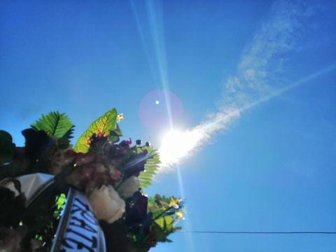 Lumina divină care a apărut din senin la înmormântarea lui Marcel Toader! Toată lumea a fost șocată! Foto