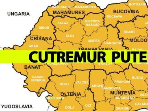 Cutremur puternic în România! A fost cel mai mare de anul acesta