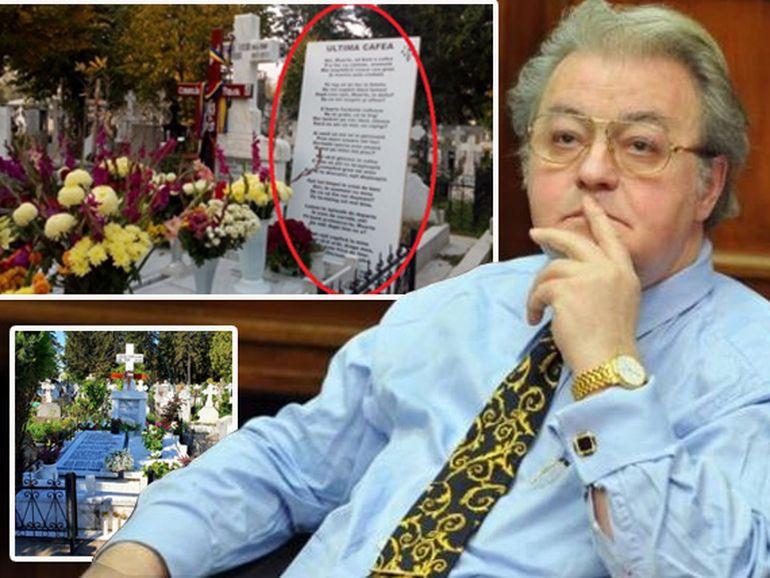A fost vandalizat mormântul lui Corneliu Vadim Tudor din cimitirul Ghencea? Vezi ce a dispărut de la locul de veci al politicianului! FOTO