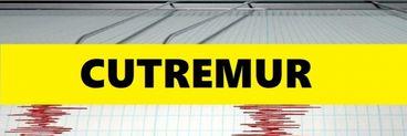 Cutremur puternic, în urmă cu puțin timp! Unde s-a produs