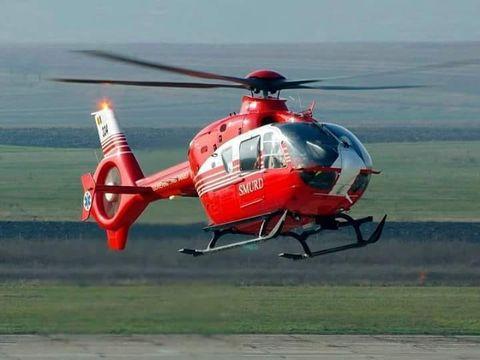 Accident cumplit pe autostrada A1! A fost solicitat elicopterul SMURD