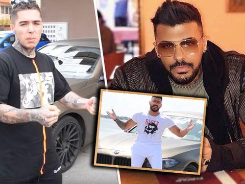 Hamude i-a luat mașina lui Lino Golden, după ce acesta a făcut accident! Cum arată acum bolidul unicat în România?