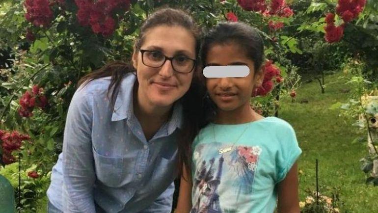 """Cazul Sorina. Noi imagini cu fetița de 8 ani care a fost adoptată de familia din SUA: """"Este bine, fericită şi plină de speranţă"""""""