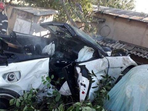"""Șoferul care a distrus o familie din Tulcea, după ce a plonjat cu mașina în curtea lor: """"Eram mândru de maşină. Îmi pare rău pentru ce s-a întâmplat"""""""