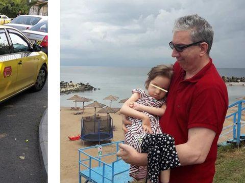 """Fetiță cu paralizie cerebrală, umilită de un taximetrist din București: """"Nu iau handicapați"""""""